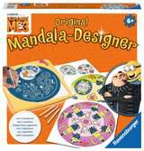Despicable me 3; midi mandala Hobby;Mandala-Designer® - Ravensburger