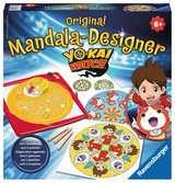 Midi Mandala Designer® Yo-Kai Watch Loisirs créatifs;Dessin - Ravensburger