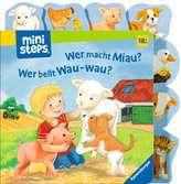 Wer macht Miau? Wer bellt Wau-wau? Kinderbücher;Babybücher und Pappbilderbücher - Ravensburger