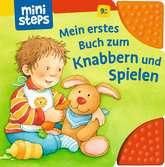 Mein erstes Buch zum Knabbern und Spielen Kinderbücher;Babybücher und Pappbilderbücher - Ravensburger
