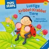 Lustige Kribbel-Krabbel Tiere Kinderbücher;Babybücher und Pappbilderbücher - Ravensburger