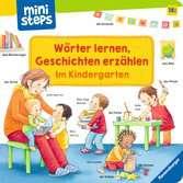 Wörter lernen, Geschichten erzählen: Im Kindergarten Kinderbücher;Babybücher und Pappbilderbücher - Ravensburger