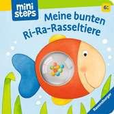 Meine bunten Ri-Ra-Rasseltiere Kinderbücher;Babybücher und Pappbilderbücher - Ravensburger
