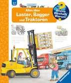 Alles über Laster, Bagger und Traktoren Kinderbücher;Wieso? Weshalb? Warum? - Ravensburger