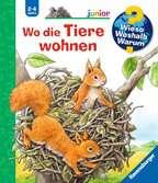 Wo die Tiere wohnen Bücher;Wieso? Weshalb? Warum? - Ravensburger