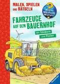 Fahrzeuge auf dem Bauernhof Malen und Basteln;Bastel- und Malbücher - Ravensburger