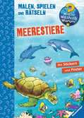 Meerestiere Malen und Basteln;Bastel- und Malbücher - Ravensburger