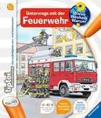 tiptoi® Unterwegs mit der Feuerwehr Kinderbücher;tiptoi® - Ravensburger