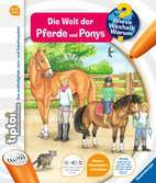 tiptoi® Die Welt der Pferde und Ponys Kinderbücher;tiptoi® - Ravensburger