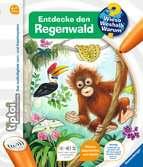 tiptoi® Entdecke den Regenwald Kinderbücher;tiptoi® - Ravensburger