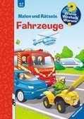 Malen und Rätseln: Fahrzeuge Kinderbücher;Wieso? Weshalb? Warum? - Ravensburger
