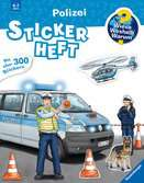 Why? Why? Why? Sticker Book: Police