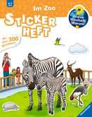 Why? Why? Why? Sticker Book: At the Zoo