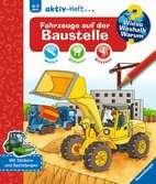 Fahrzeuge auf der Baustelle Malen und Basteln;Bastel- und Malbücher - Ravensburger