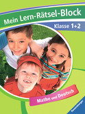 Mein Lern-Rätsel-Block Klasse 1 + 2 Lernen und Fördern;Lernhilfen - Ravensburger