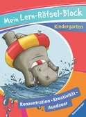 Mein Lern-Rätsel-Block Kindergarten Lernen und Fördern;Lernbücher - Ravensburger
