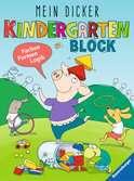 Mein dicker Kindergartenblock Lernen und Fördern;Lernbücher - Ravensburger