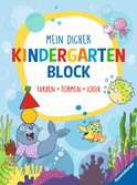 Mein dicker Kindergartenblock Kinderbücher;Lernbücher und Rätselbücher - Ravensburger