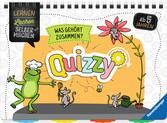 Quizzy: Was gehört zusammen? Kinderbücher;Lernbücher und Rätselbücher - Ravensburger