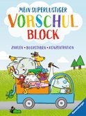 Mein superlustiger Vorschul-Block Kinderbücher;Lernbücher und Rätselbücher - Ravensburger