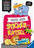 Erstes Lesen Sticker-Rätsel Kinderbücher;Lernbücher und Rätselbücher - Ravensburger