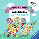 Im Kindergarten: Allererstes Schneiden Lernen und Fördern;Lernbücher - Ravensburger