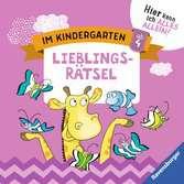 Im Kindergarten: Lieblingsrätsel Lernen und Fördern;Lernbücher - Ravensburger