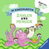 Im Kindergarten: Zahlen und Mengen Lernen und Fördern;Lernbücher - Ravensburger