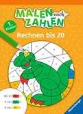 Malen nach Zahlen, 1. Klasse: Rechnen bis 20 Lernen und Fördern;Lernbücher - Ravensburger