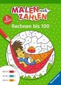Malen nach Zahlen, 2. Klasse: Rechnen bis 100 Lernen und Fördern;Lernbücher - Ravensburger