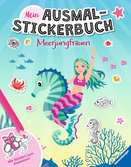Mein Ausmal-Stickerbuch: Meerjungfrauen Malen und Basteln;Bastel- und Malbücher - Ravensburger
