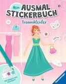 Mein Ausmal-Stickerbuch: Traumkleider Malen und Basteln;Bastel- und Malbücher - Ravensburger