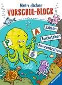 Mein dicker Vorschul-Block Kinderbücher;Lernbücher und Rätselbücher - Ravensburger