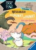 Rätselblock von Punkt zu Punkt: Bei den Dinos Kinderbücher;Lernbücher und Rätselbücher - Ravensburger