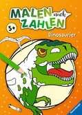Malen nach Zahlen: Dinosaurier Malen und Basteln;Malen nach Zahlen - Ravensburger