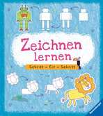 Zeichnen lernen Schritt für Schritt Kinderbücher;Malbücher und Bastelbücher - Ravensburger
