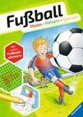 Fußball. Malen - Rätseln - Quizzen Kinderbücher;Malbücher und Bastelbücher - Ravensburger