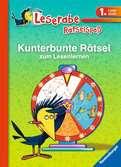 Kunterbunte Rätsel zum Lesenlernen (1. Lesestufe) Kinderbücher;Lernbücher und Rätselbücher - Ravensburger