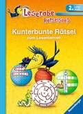 Kunterbunte R?tsel zum Lesenlernen (2. Lesestufe) Kinderbücher;Lernbücher und R?tselbücher - Ravensburger