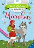 Hören und Malen: Märchen (mit CD) Kinderbücher;Malbücher und Bastelbücher - Ravensburger