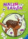 Malen nach Zahlen ab 5 Jahren: Tierkinder Malen und Basteln;Malen nach Zahlen - Ravensburger