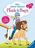 Mein liebster Malblock: Pferde & Ponys Kinderbücher;Malbücher und Bastelbücher - Ravensburger