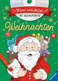 Hören und Malen: Weihnachten (mit CD) Kinderbücher;Malbücher und Bastelbücher - Ravensburger