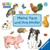 Meine Tiere und ihre Kinder Kinderbücher;Babybücher und Pappbilderbücher - Ravensburger