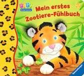 Mein erstes Zootiere-Fühlbuch Kinderbücher;Babybücher und Pappbilderbücher - Ravensburger