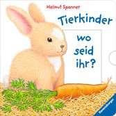 Tierkinder, wo seid ihr? Kinderbücher;Babybücher und Pappbilderbücher - Ravensburger
