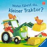 Wohin fährst du, kleiner Traktor? Kinderbücher;Babybücher und Pappbilderbücher - Ravensburger