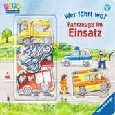 Wer fährt wo? Fahrzeuge im Einsatz Baby und Kleinkind;Bücher - Ravensburger