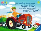 Am Sonntag denkt sich Bauer Hans, ich fahr mal los mit meiner Gans Baby und Kleinkind;Bücher - Ravensburger