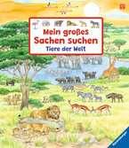 Mein großes Sachen suchen: Tiere der Welt Kinderbücher;Babybücher und Pappbilderbücher - Ravensburger